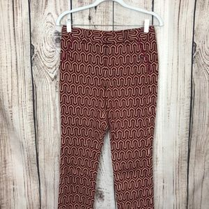 Anthropologie Cartonnier Charlie Patterened Pants
